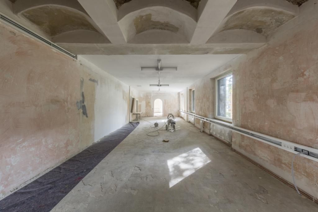 Baukunstarchiv NRW, Innenraum Sanierung