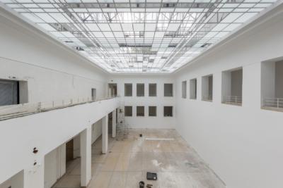 Lichthof Baukunstarchiv NRW, Revitalisierung 09/2017