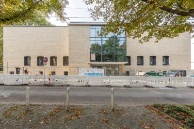 Außenansicht Eingangsfront Baukunstarchiv NRW, Stand 09/2017