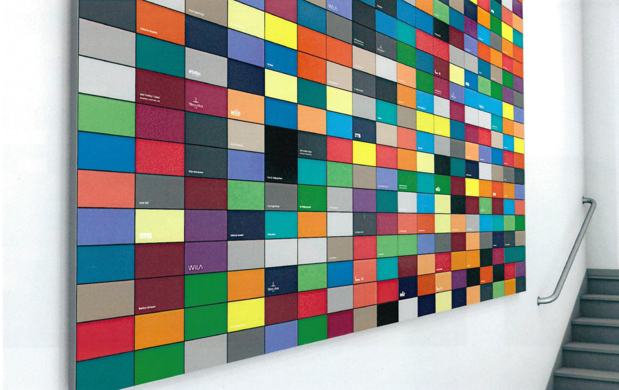 Wand des Dankes Simulation