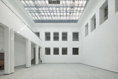 Lichthof nach Revitalisierung im April 2018