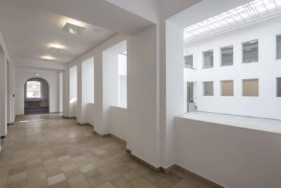 Umgang zum Lichthof nach Revitalisierung im April 2018