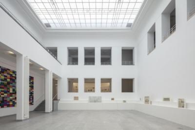 Lichthof Baukunstarchiv NRW 2019, Foto: Detlef Podehl