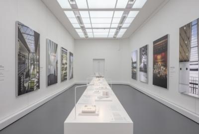 Ausstellung Gerber Architekten im Baukunstarchiv NRW, Foto: Detlef Podehl