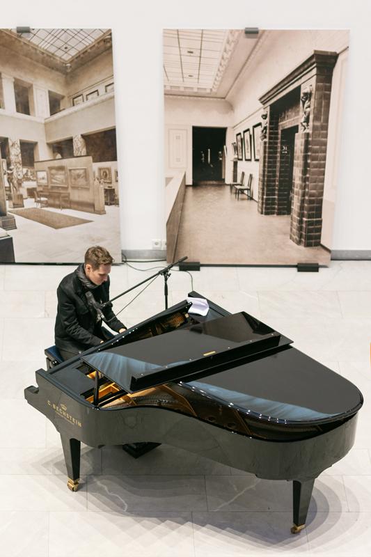 Klavierkonzert im Baukunstarchiv NRW