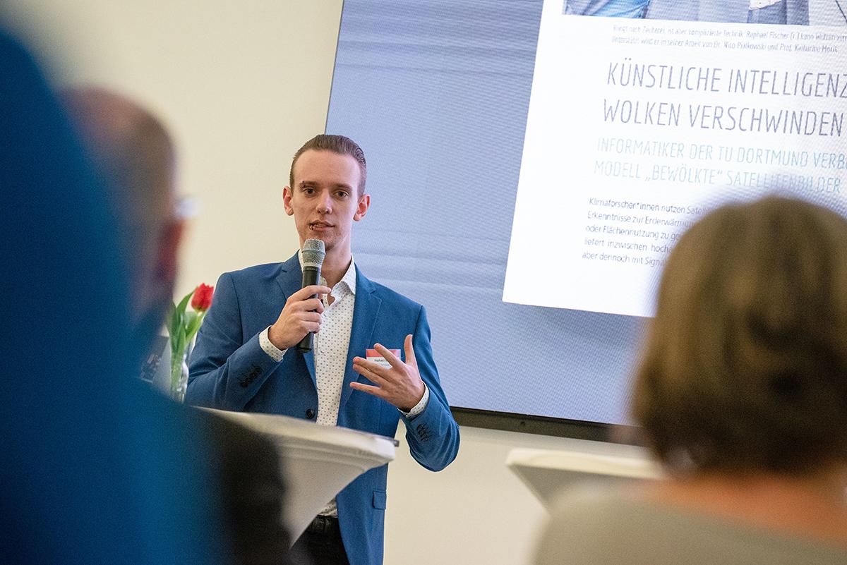 Buchpräsentation, Rafael Fischer, TU Dortmund