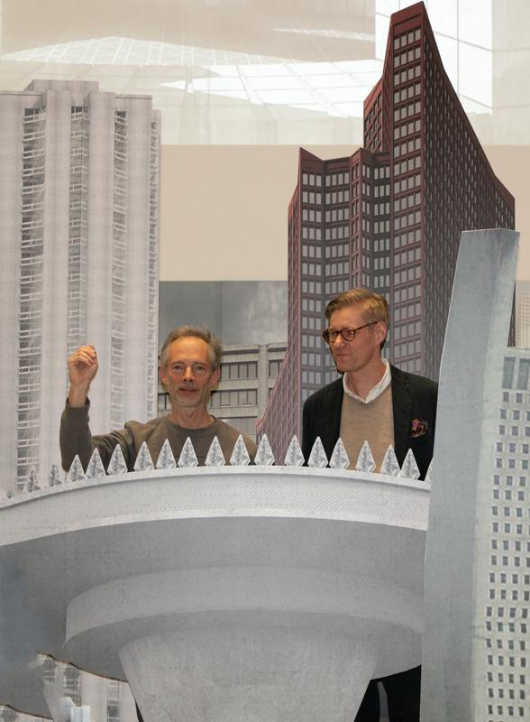 Ausstellungseröffnung Reproduktives Entwerfen, Wolfgang Sonne, Georg Ebbing