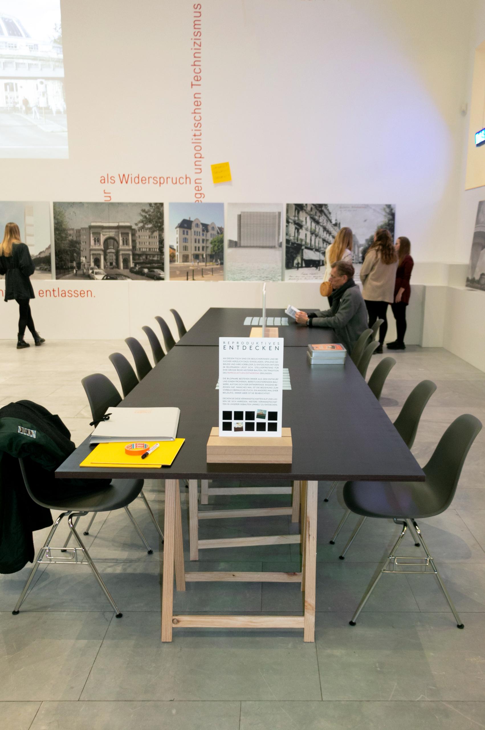 Ausstellung Reproduktives Entwerfen