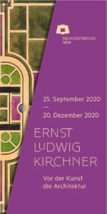 Ernst Ludwig Kirchner Ausstellungsplakat