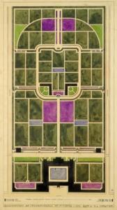 Ernst Ludwig Kirchner Entwurf einer Friedhofsanlage
