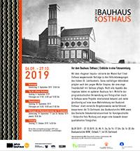 vor dem Bauhaus Osthaus Ausstellung