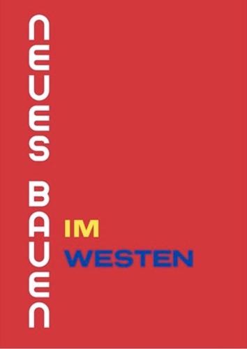 Neues Bauen im Westen Cover