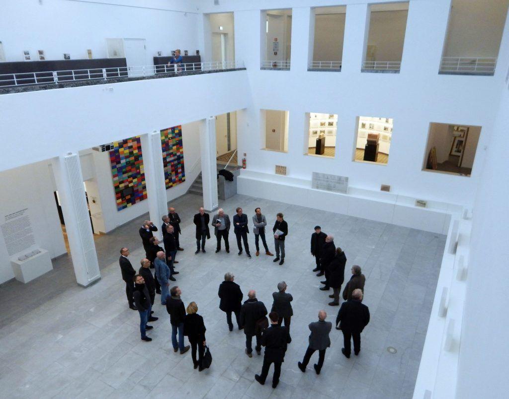 Lichthof des Baukunstarchivs NRW, Foto: sim/BDA Dortmund Hamm Unna