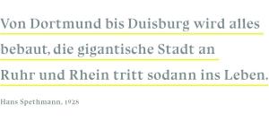 Impulse, Zitat Hans Spethmann