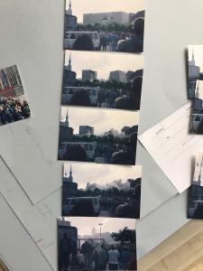 Fotos der Sprengung des Hauses der Bibliotheken in Dortmund