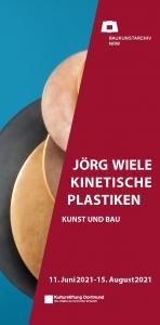 Cover Flyer Jörg Wiele
