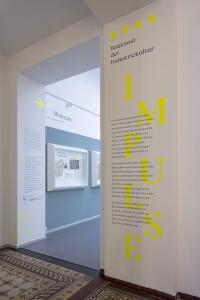 Dauerausstellung Impulse. Baukunst der Industriekultur, Foto: Detlef Podehl