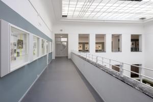 Dauerausstellung Impulse, Blick in die Galerie des Baukunstarchivs NRW; Foto: Detlef Podehl