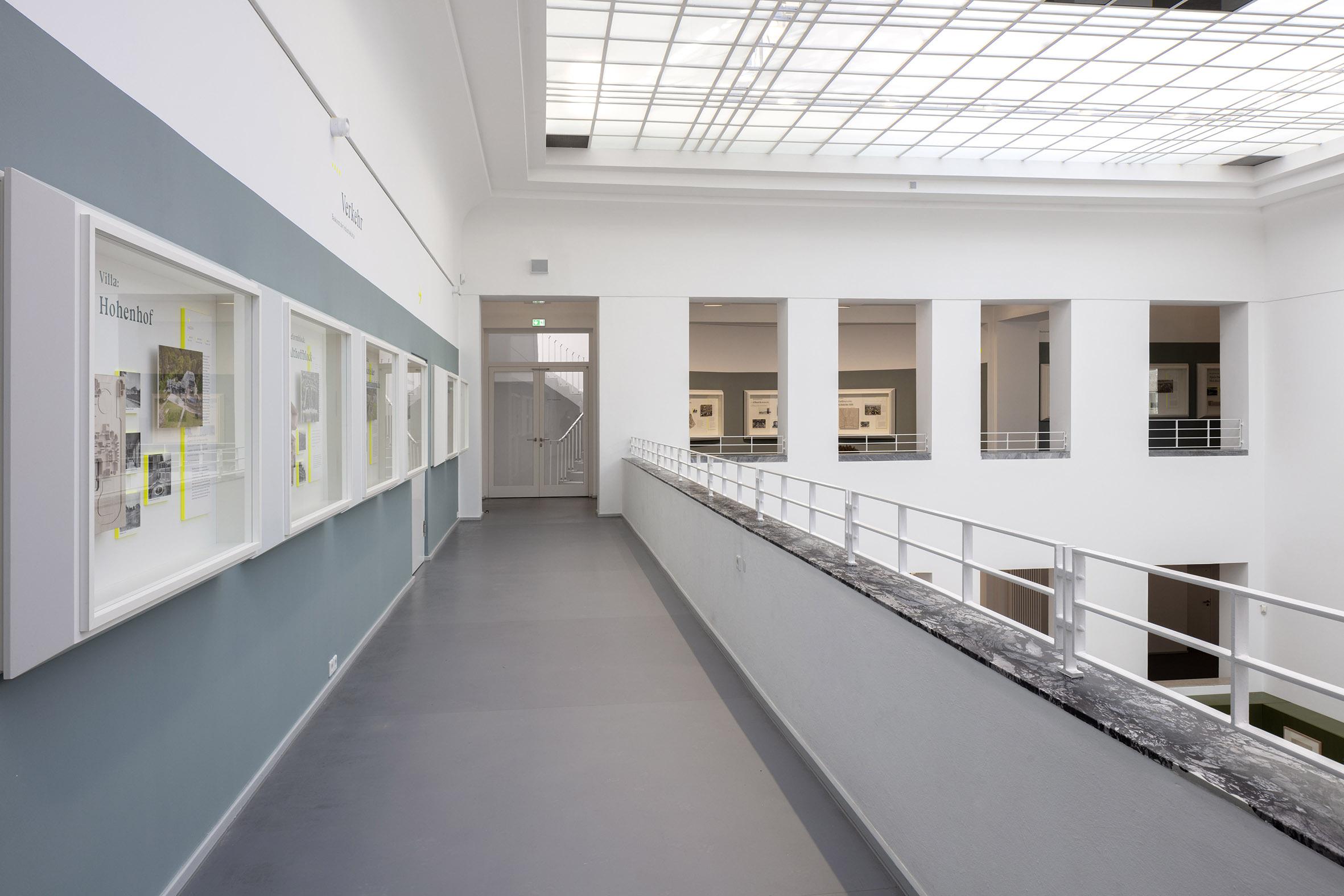 Dauerausstellung Impulse, Blick in die Galerie des Baukunstarchivs NRW;Foto: Detlef Podehl